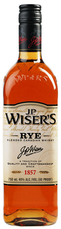 Wisers Canadian Whisky Rye